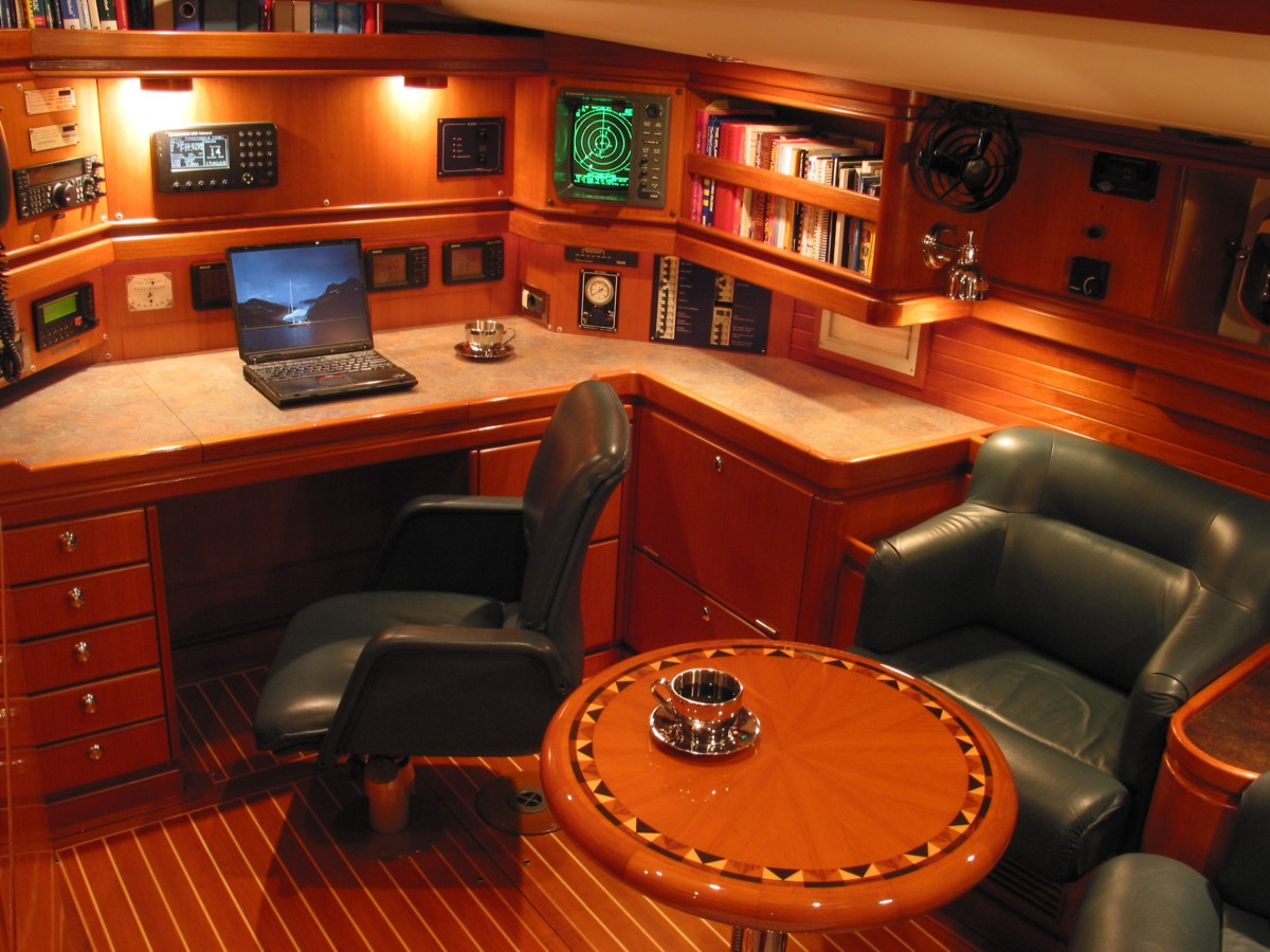 The Ultimate Best Cruising Sailboat Yacht Pilothouse